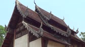 ton : CHIANGMAI , THAILAND - MARCH 26 2014: Wat Ton Gwan, Temple is major tourist attraction of Chiangmai, Thailand. Stok Video