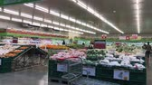 kasa : Chiangmai, Thailand - December 27 2019: Inside of Makro supermarket. Footage of Makro Mae Rim in Chiangmai, Thailand. Wideo
