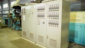 покрытие : There are industrial equipment and machine in the plant.