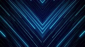 slierten : blue neon light abstract visual geometry motion graphic technology digital concept