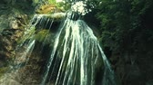 mohás : Beautiful waterfall in deep forest or park