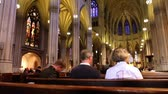 motion blur : Cathedral Time Lapse Stock Footage