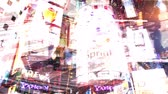 značky : A montage composite of many different shots of advertisements and billboards in Times Square in New York City Dostupné videozáznamy