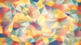 gradient : light abstract background of triangles of different colors with soft edges