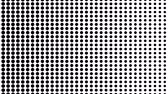 opções : Dynamic black and white composition. Halftone element. Seamless loop Stock Footage