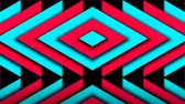 zigzag : Abstract composition of bright arrows. Seamless loop