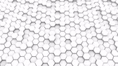 izometrický : Abstract geometric hexagons, optical Illusion, computer generated 3D rendering backdrop.