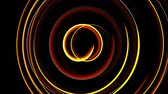 эллипс : Abstract spiral rotating glow lines, computer generated background, 3D rendering background.
