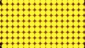 med : Abstract background with rows of many yellow turning coins, 3d rendering backdrop, computer generating