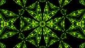 irradiar : Abstract symmetry kaleidoscope hexahedron, 3d rendering backdrop, computer generating