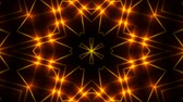 излучать : Abstract symmetry kaleidoscope - fractal lights, 3d rendering backdrop, computer generating background Стоковые видеозаписи