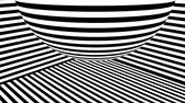 arte moderna : Black and white stripes. Computer generated abstract background, 3D rendering backdrop