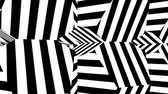 dinâmica : Black and white stripes. Computer generated abstract background, 3D rendering backdrop