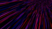 ismeretlen : Time warp, traveling into dark unknown space, 3d rendering computer generated background Stock mozgókép