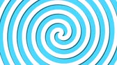 rotation : Abstract spiral rotating and twisting lines, computer generated background, 3D rendering background, cartoon style