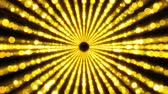 技術 : Gold particles tunnel warp, moving in space and time, distortion of space, 3d rendering abstract background 影像素材