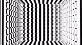 zigzag : Black and white stripes. Computer generated abstract background, 3D rendering backdrop