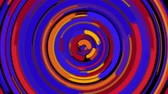 bússola : Abstract spiral bright rotating and twisting lines, computer generated background, 3d rendering backdrop Stock Footage