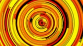 эллипс : Abstract spiral bright rotating and twisting lines, computer generated background, 3d rendering backdrop Стоковые видеозаписи