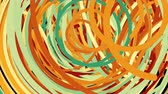 эллипс : Abstract chaotic fast colorful lines, computer generated background, 3d rendering backdrop