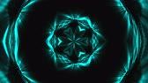 irradiar : Beautiful abstract kaleidoscope - fractal flower, 3d rendering backdrop, computer generating background Vídeos