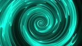 Abstract spiral rotating lines, computer generated background, 3D render background