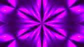 matematik : Abstract symmetry kaleidoscope - fractal lights, 3d rendering backdrop, computer generating background Stok Video