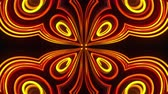 nagyobbít : Abstract beautiful kaleidoscope background with glow lines like petals, 3d rendering computer generated backdrop