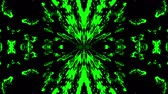 monocromático : Beautiful abstract symmetry kaleidoscope, 3d rendering backdrop, computer generating background