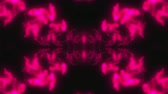 clignotant : Abstract neon kaleidoscope background, 3d rendering computer generated background Vidéos Libres De Droits