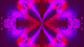 glanz : Computer generated beautiful abstract backdrop from spots and splashes. Kaleidoscope converts colors into a flower image, 3D rendering Videos