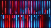 glanz : Neon lines backdrop, computer generated 3d render of grid Videos