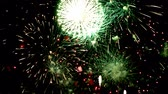 ano : Fireworks display celebration, Colorful Firework 4K with sound audio