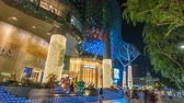 モール : Singapore time lapse 4K, night timelapse at ION Orchard shopping mall