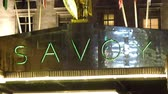 The Savoy Theater in London. This is where movies and theatric acts will be shown Vídeos