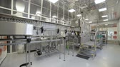 Factory for bottling alcoholic beverages