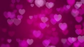 Valentines day pink background with hearts background
