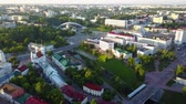 blue sea : Vitebsk city center