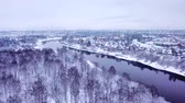Winter Landscape In The Park Mazurino City Vitebsk