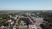 Morning panorama of the city of Vitebsk