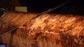 sanduíche : Turkish Anatolian Traditional Eastern Food Beef or Lamb Doner Kebab
