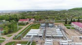 petrochemical : beautiful upper view