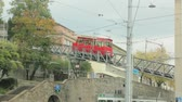 schweiz : Funicular Transport Zurich Switzerland Stock Footage