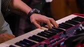 rock'çı : Playing Piano Stok Video