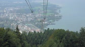 Mountain Forest Cable Car Lift 무비클립