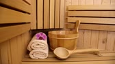 wllness and spa accessories in sauna