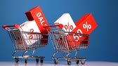 discounts and sales, shopping carts
