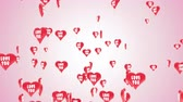 Beautiful 3D animation of heart balloons with shape of valentines heart flies against a pink background. This video can be used like greeting card for wedding, valentines day, intro or celebration. Dostupné videozáznamy