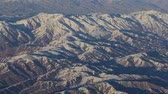 kush : Aerial views in mountain. View from the plane. The Hindu Kush mountain system in Afghanistan. Top view