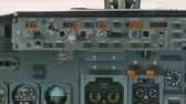 captain : Control panel of airplane